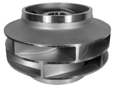 Super-Duplex-Stainless-Steel-Double-Suction-Impeller-for-Pump-Industry