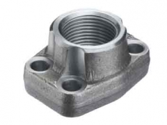 Ductile Gray Iron Sand Casting Threaded Flange Casting HS-GI-018