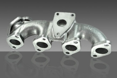Sand Casting Silicon Ductile Iron SiMo Exhaust Manifold