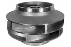 Super Duplex Stainless Steel Double Suction Impeller for Pump Industry