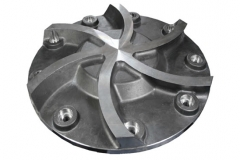 Super Duplex Stainless Steel Casting Rotor Plate for Machinery Industry