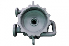 Titanium Casting Pump Body