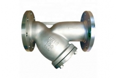 Steam Y Strainer Stainless Steel Flanged 6-Inch