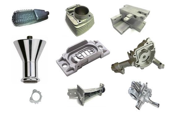 aluminum die casting zinc die casting parts