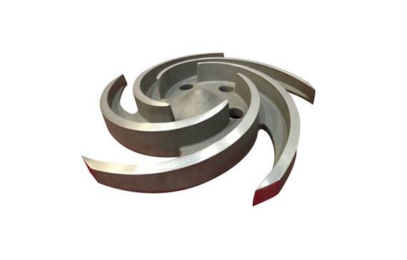titanium casting titanium impeller