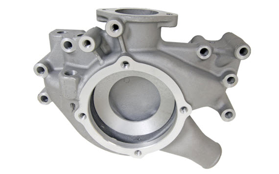 a356 aluminum casting pump housing